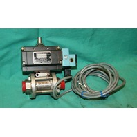 Gemini Valve B412 28835 Pneumatic Actuator 0.6 89 4RTV6  Stainless Ball 1000psi