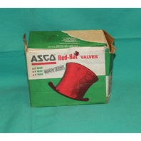 "Asco Red Hat HV2748611 Solenoid Valve 24/DC 3/4""NPT 318973 NEW"