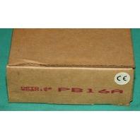 Opto 22 PB16A 16 channel I/O logic module NEW
