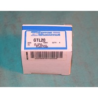 Ferraz Shawmut GTL20 Time Delay Plug Fuse Glass 125V 4/box NEW
