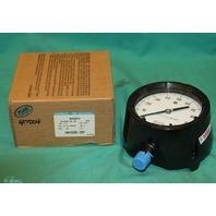 "Ashcroft 45 1279AS 04L XLL Pressure Gauge 4-1/2"" Brass Kit 100psi Duragauge NEW"