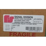 Federal Signal LSH-120 Sound Module 120VAC NEW