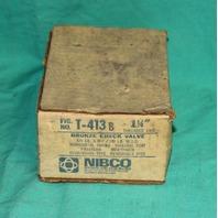 "Nibco Bronze Check Valve T-413B 1.25"" 1 1/4"" Horizontal Swing one way 125lb 125"