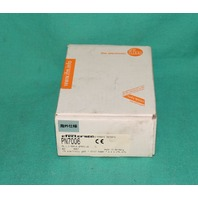 IFM, PN7006, Efector Pressure Sensor PN-2,5-RBR14-QFRKG/US NEW