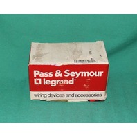 Pass & Seymour FS5 Fluorescent Light Bulb Lamp Starter 4.6.8W NEW