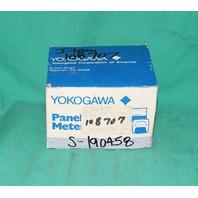 Yokogawa 50-163141PDPD2 Panel Meter 0-80 AC Amperes NEW