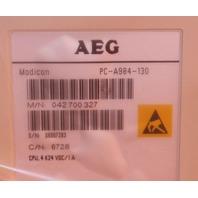 AEG Modicon PC-A984-130 CPU 4K Memory NEW