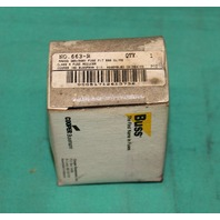 Buss Cooper Bussman 663-R Class R Fuse Reducer 30A 600V NEW