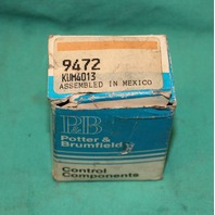 Potter & Brumfield KUM-4013 Control Relay 24VDC KUM4013 NEW