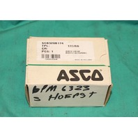 Asco SCB320B174 Solenoid Valve Direct In Line Operated 120V 60Hz 400425-225 NEW