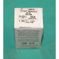 Pass & Seymour L520-R Turnlok Receptacle Plug 20A 125V 2P 3W NEW
