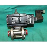 Gemini Valve B412 44917 Electric Actuator 0.6 89 6RTV6 1000psi CWP NEW