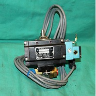 "Gemini Valve Pneumatic Actuator B412 A7 1/4"" Brass Ball Valve NEW"
