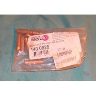 "Abicor Binzel T-035 Contact Tip 140.0928 .035"" Welding Mig lot of 8"