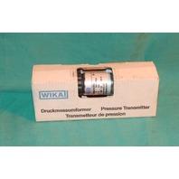 Wika 4286104 Pressure Transmitter NEW