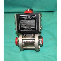 Gemini Valve A512 CW-C Pneumatic Actuator 0.6 89 6RTV6 Stainless Ball NEW