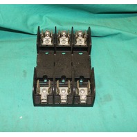 Gould Shawmut, 60658R, Fuse Block Holder Block 600V 60a NEW
