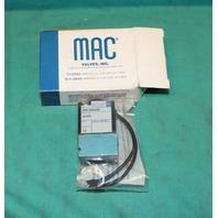 Mac, PME-592DABE,  Solenoid Valve 24VDC 25-150psi NEW