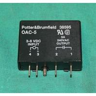 Potter& Brumfield, OAC-5, 38595, I/O Module 3-8VDC  Crouzet Opto 22 NEW