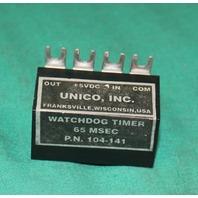 Unico, 104-141, Watchdog Timer 65MSEC 5VDC NEW