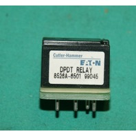 Cutler-Hammer, 8526A-6501, Output DPDT Relay Eaton NEW