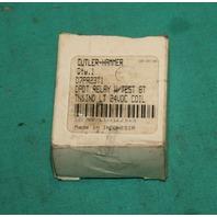 Cutler-Hammer, D7PR23T1, DPDT Relay 24VDC Coil NEW